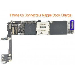 iPhone 6s connecteur nappe dock de charge